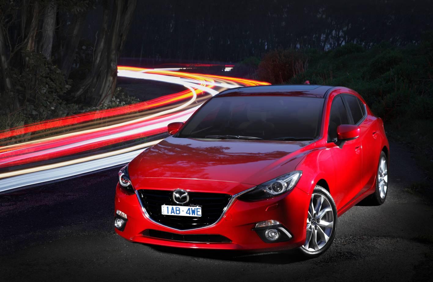 Mazda3 - two minor recalls in the 21st Century