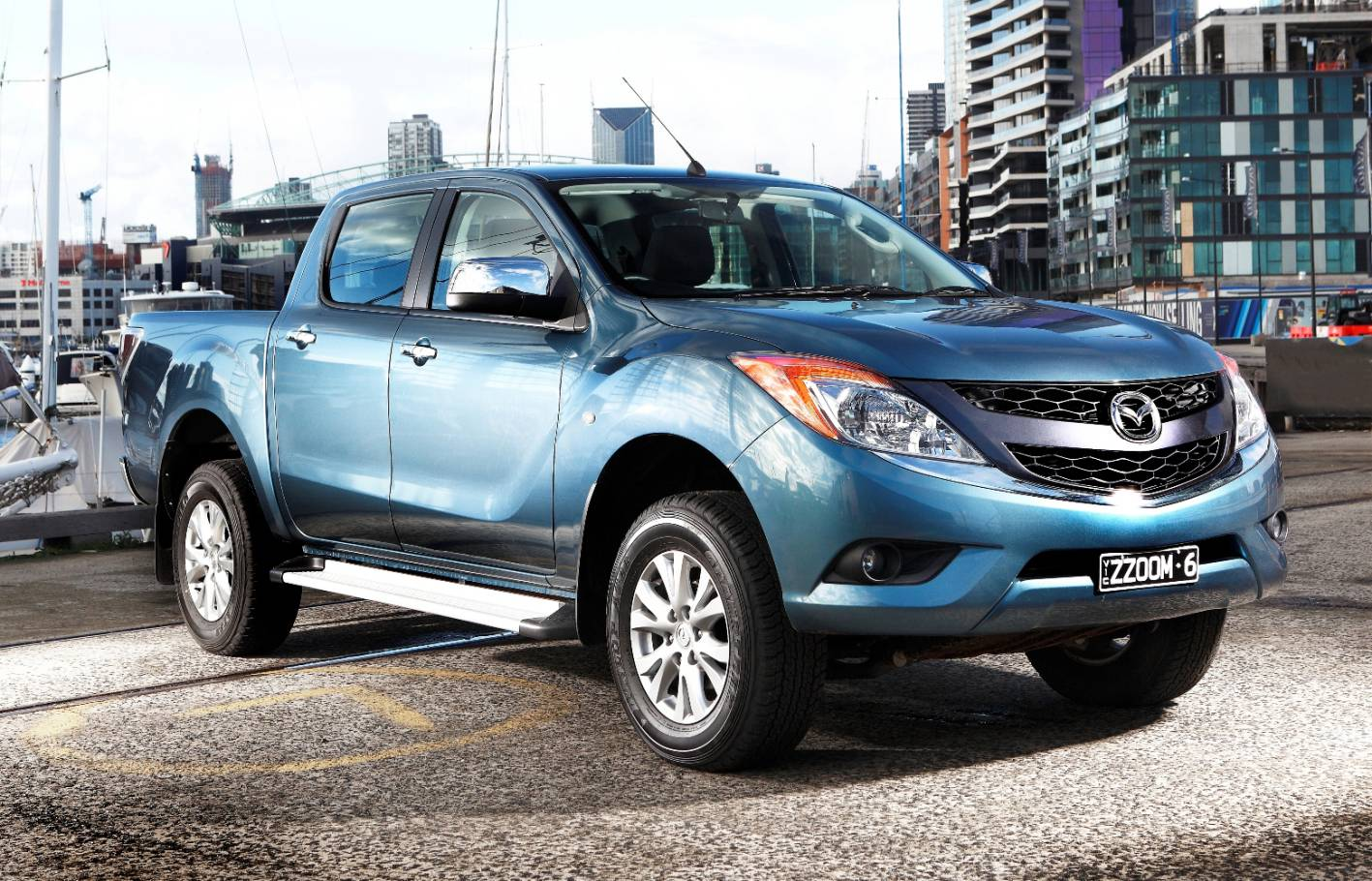 Strong five-cylinder diesel puts BT-50 and Ranger second in the 4WD ute segment