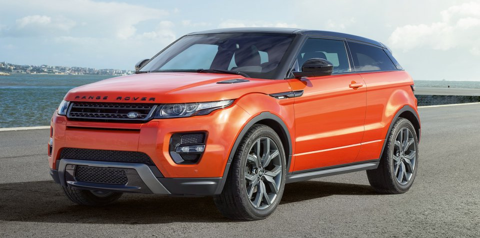 Range Rover Evoque: The kind of SUV a Kardashian would build. One did, kind of...