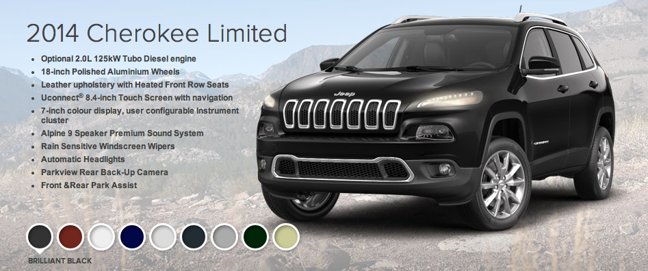 Jeep Cherokee Limited - click to enlarge