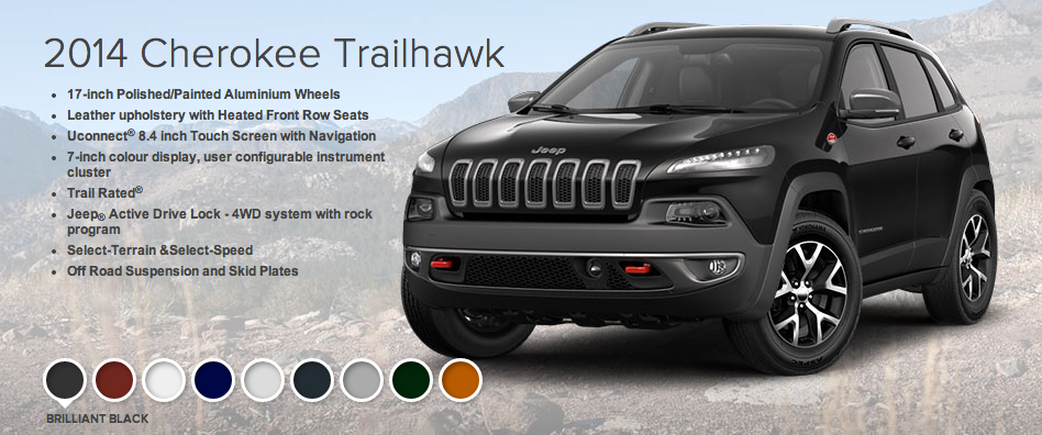 Jeep Cherokee Trailhawk - click to enlarge