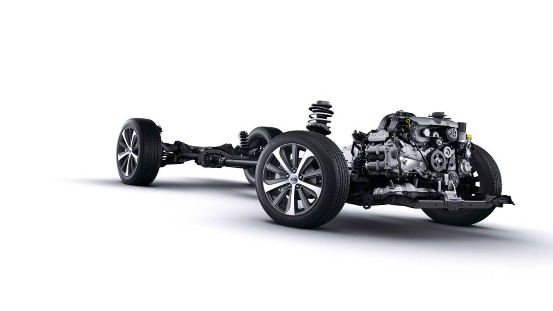 Symmetrical AWD - a huge plus