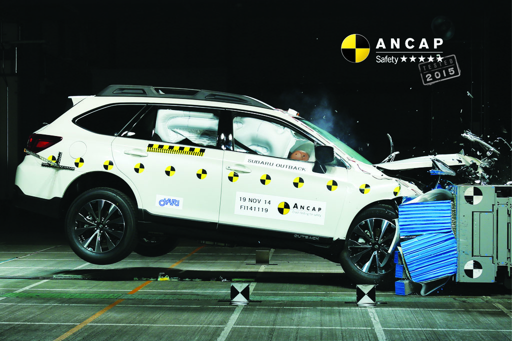 2015 Subaru Liberty - independently assessed as the safest Subaru ever