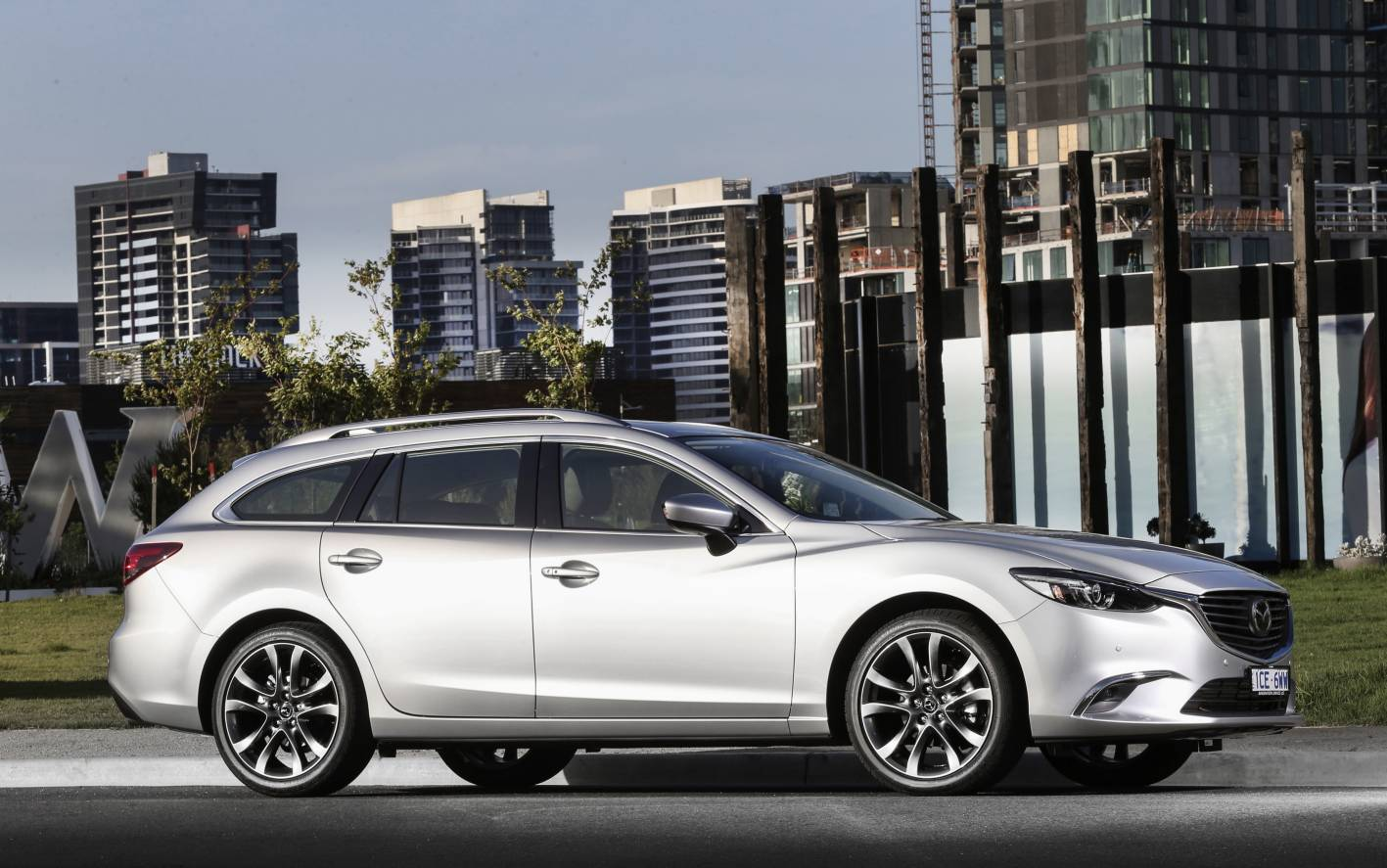 For many buyers a conventional station wagon like the Mazda6 (above) would make more objective sense