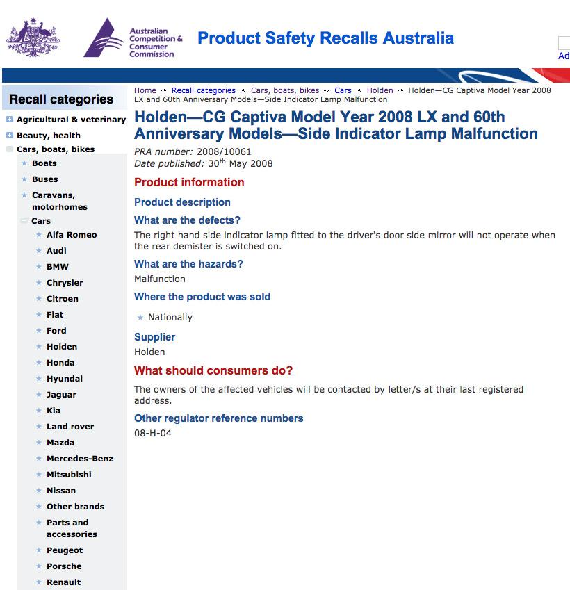 Holden Captiva SUV Lemon Alert: Don't Buy — Auto Expert by