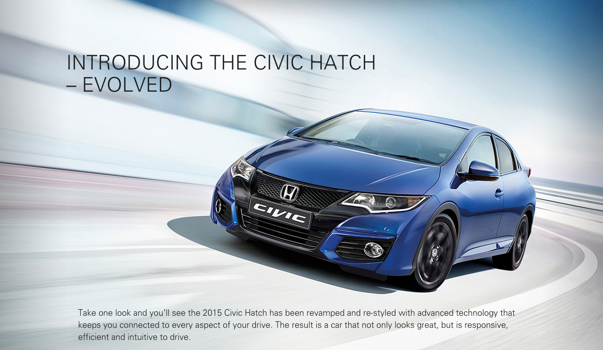 New Honda Civic Hatch (click to enlarge) puts on a brave face - but it's astoundingly low on advanced technology in critical areas