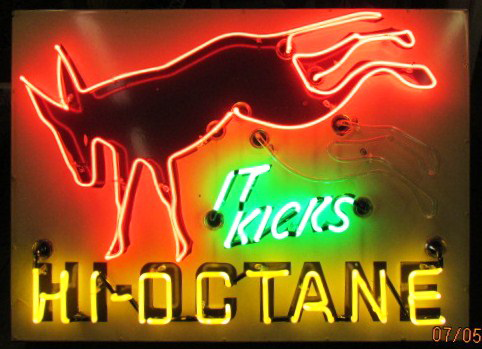 It kicks: Really? The fuel industry has been spraying hokum like this for donkey's years. (In this case, literally.)