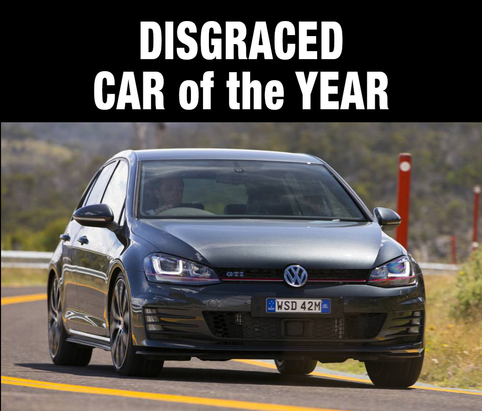 Corporate 'ethics' & 'morality' are obviously not core criteria in the Carsales car of the year awards...