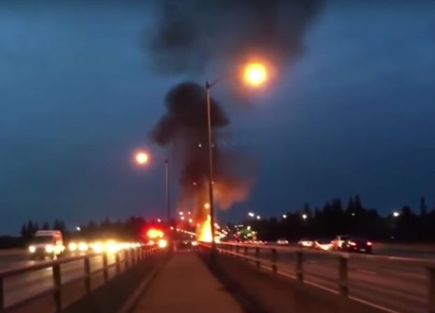 22 Feb 2016:  the explosion of a 2015 C300 explosion within a week of purchase in Oregon. One very unhappy owner filmed it on the freeway on his phone. USD$42,000 literally up in smoke