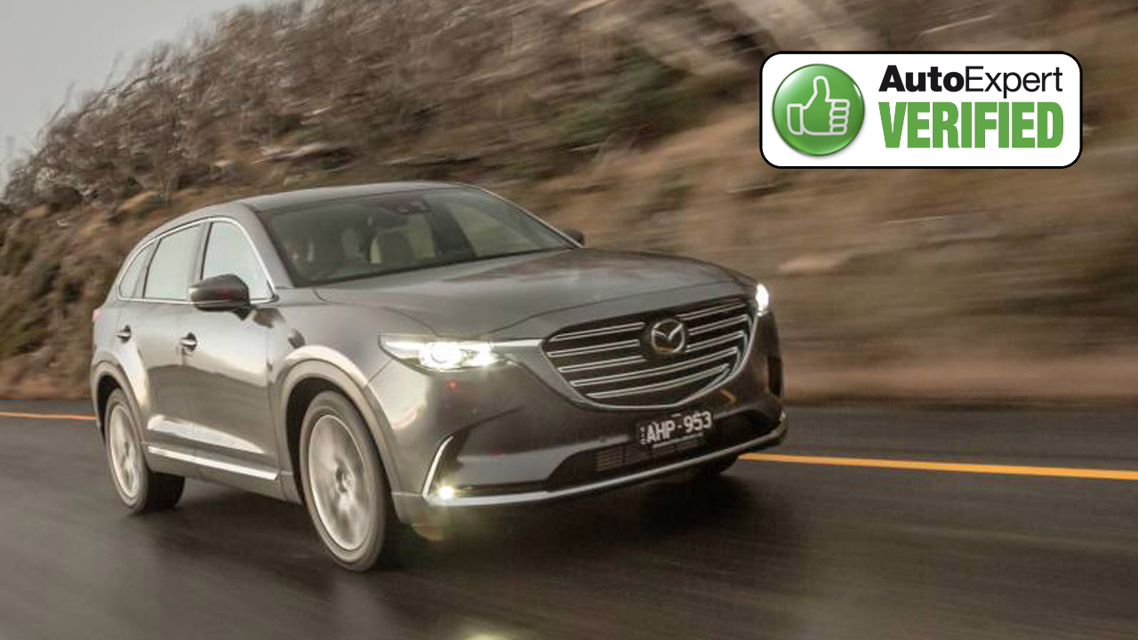 Above: Mazda CX-9 has one of the most advanced diesel-like petrol powertrains available today