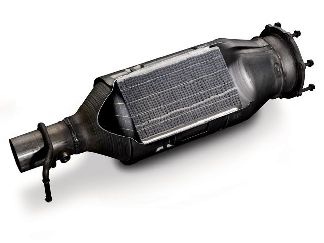 Above: A diesel particulate filter is an expensive component to replace - but a regular trip up the highway and back each fortnight will generally keep yours in good health