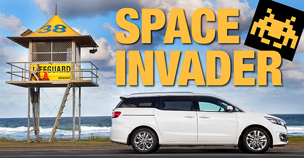 Above: Kia Carnival. There's no question the diesel is the premium performer in the market's best 8-seat people mover