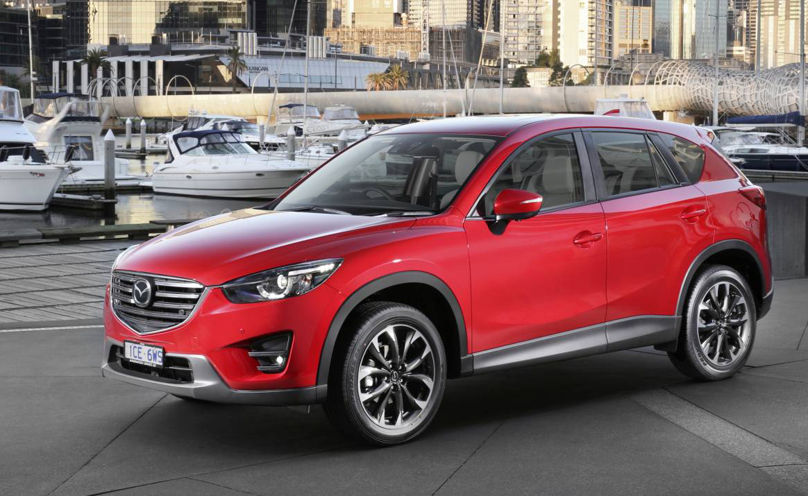 Mazda CX-5 is a tried and proven, popular (very popular) design - but has a short warranty and a space saver spare tyre as key downsides.