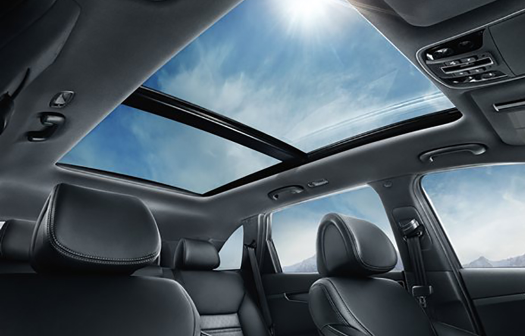 Panoramic sunroof - like all such sunroofs, failures are dramatic but quite infrequent