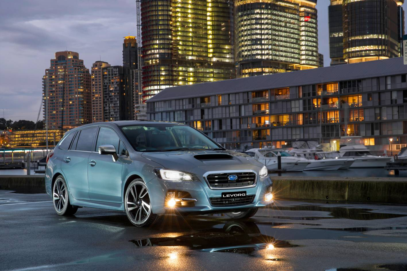 Levorg is excellent value - with many features standard, which are typically high cost options on premium Euro vehicles costing thousands more