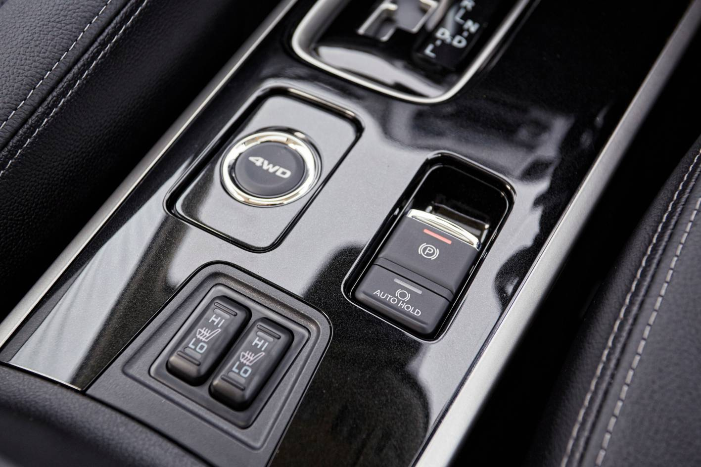 Electric servo-operated parking brake starts at LS Safety Pack AWD - but heated front seats are reserved for Exceed