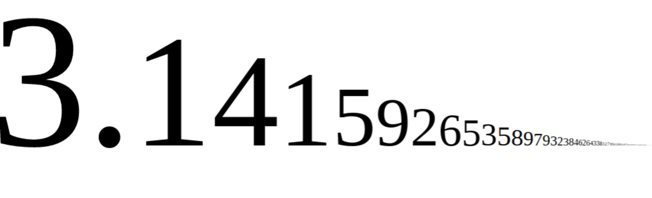 All you really need to know is that pi is a big, long number representing the ratio of the circumference of a circle to its diameter - it goes on for ever, but 3.1 is good enough