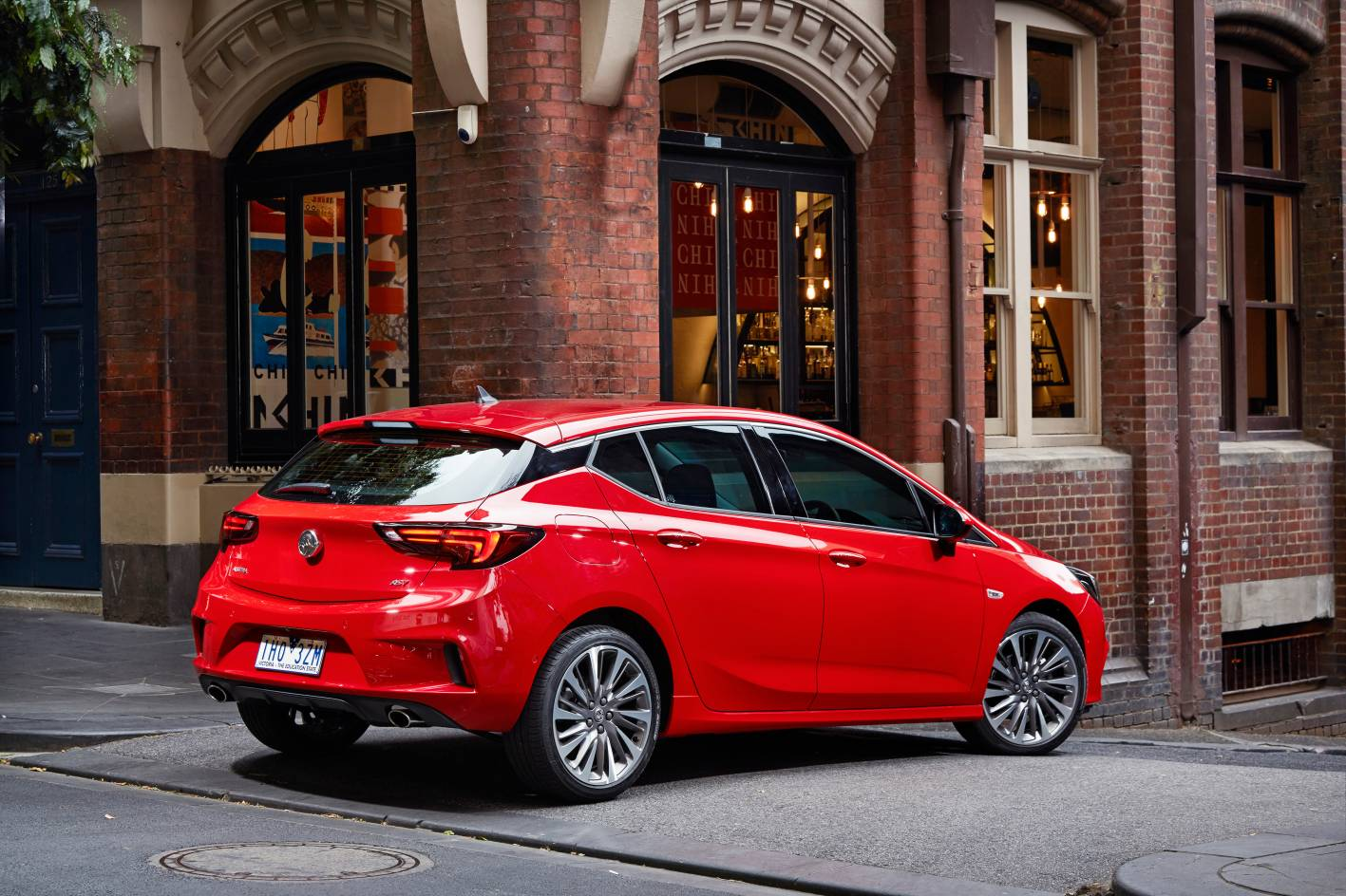 Holden Astra hatch is just not as space efficient as Mazda3 or Hyundai i30 - especially in the cargo bay