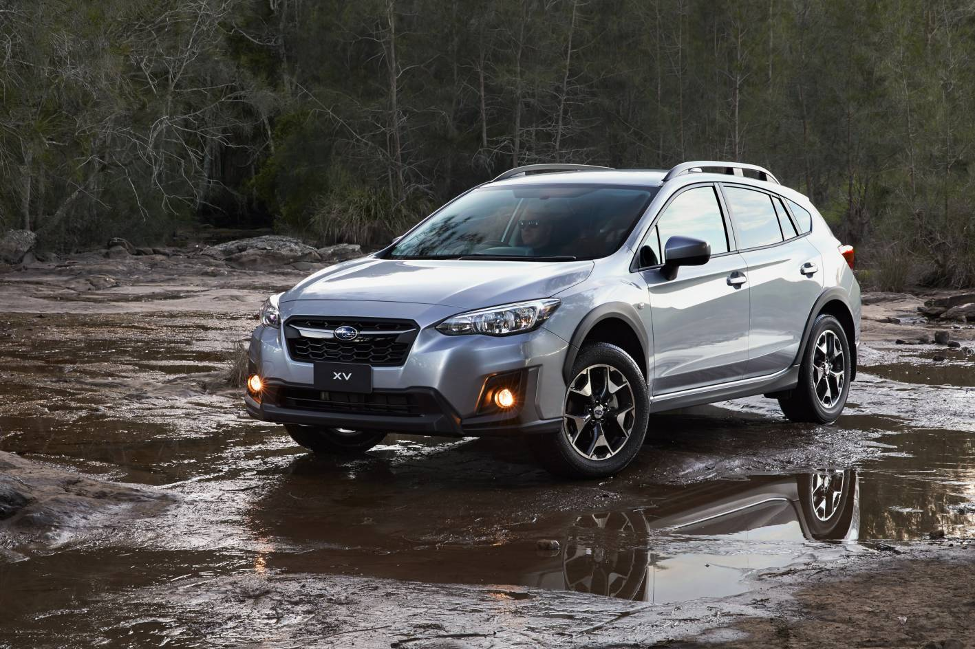 XV, like all Subarus (except the BRZ sports car), has Symmetrical AWD