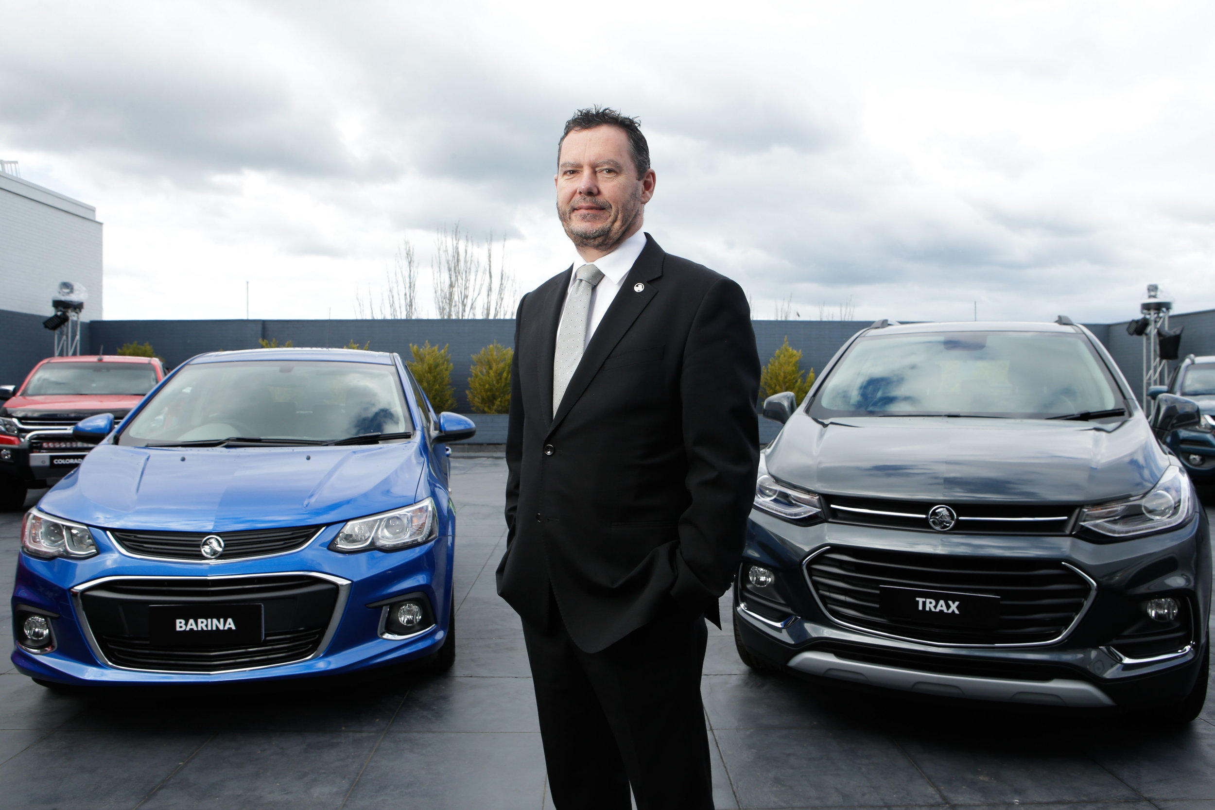 Holden boss Mark Bernhard has quite possibly one of the worst jobs in Australia from today forward
