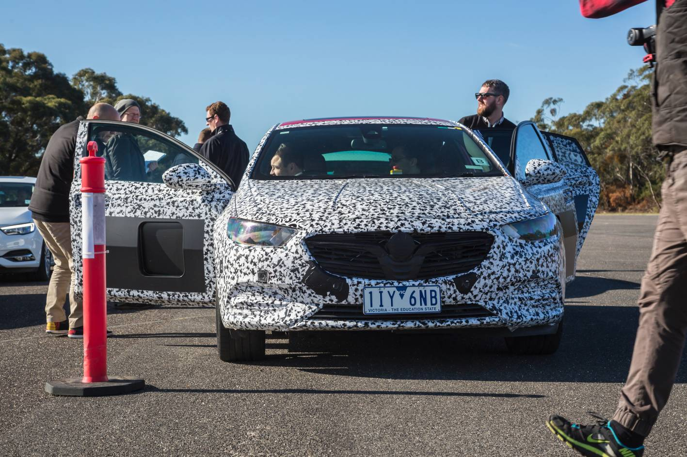 This is the new Holden Commodore - the only problem with which is: Nobody really gives a toss