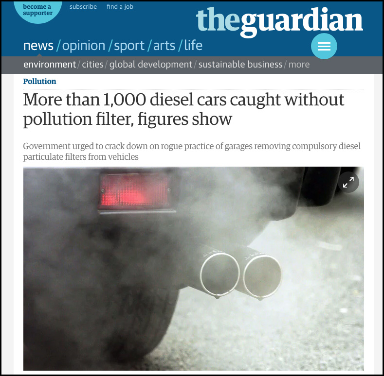 The Truth About Modern Diesel Particulate Filter (DPF
