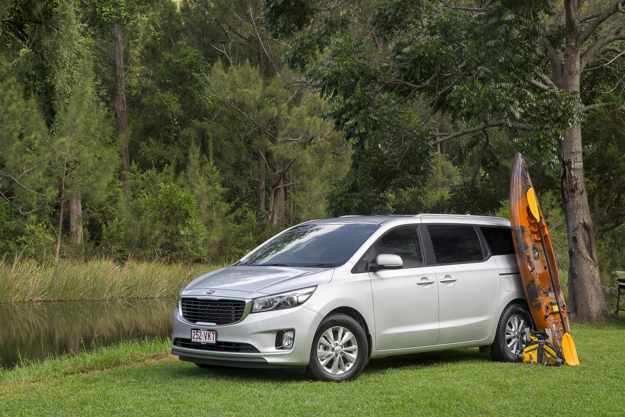 Kia Carnival (at around the same price) is still the winner on moving people and their stuff. It's safer in the 3rd row,too ... but admittedly not as sexy