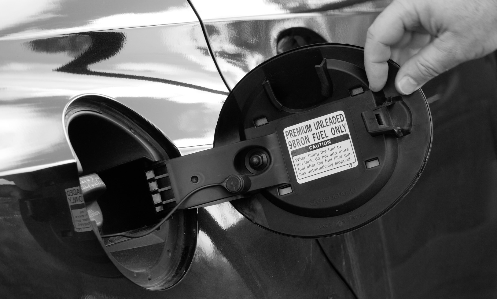 If you see this kind of message: DO NOT use a lower octane fuel. It can damage your engine.