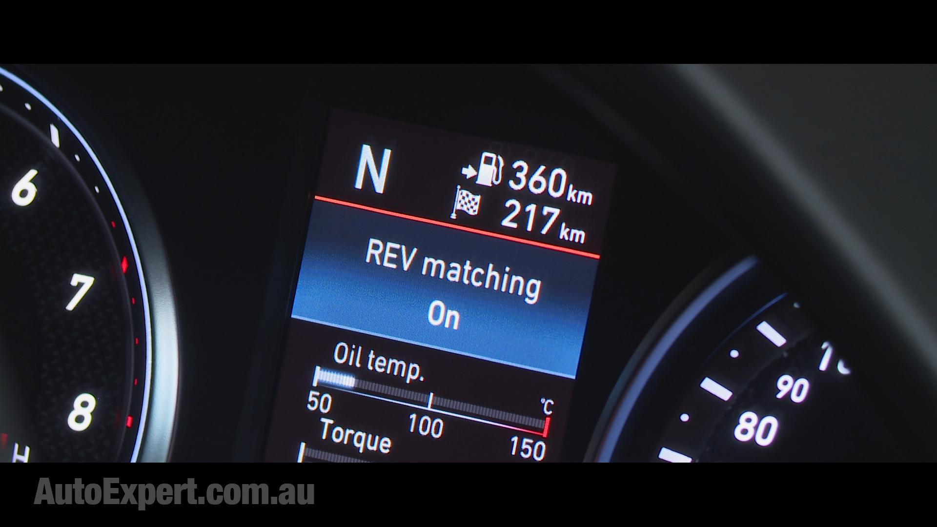 Rev-matching mode