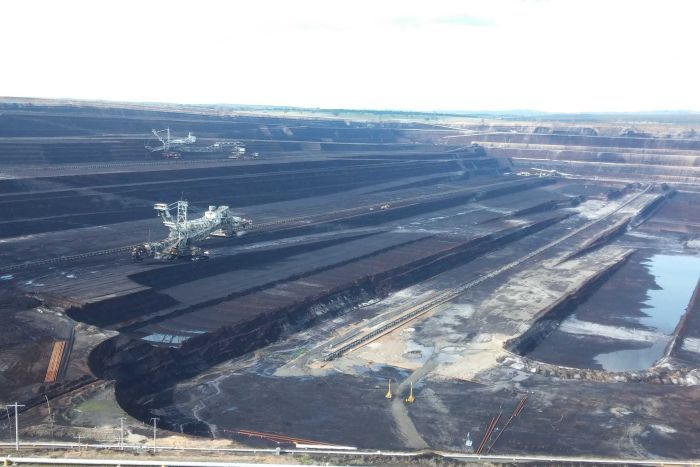 This is what an environmental disaster looks like: Latrobe Valley brown coal mine