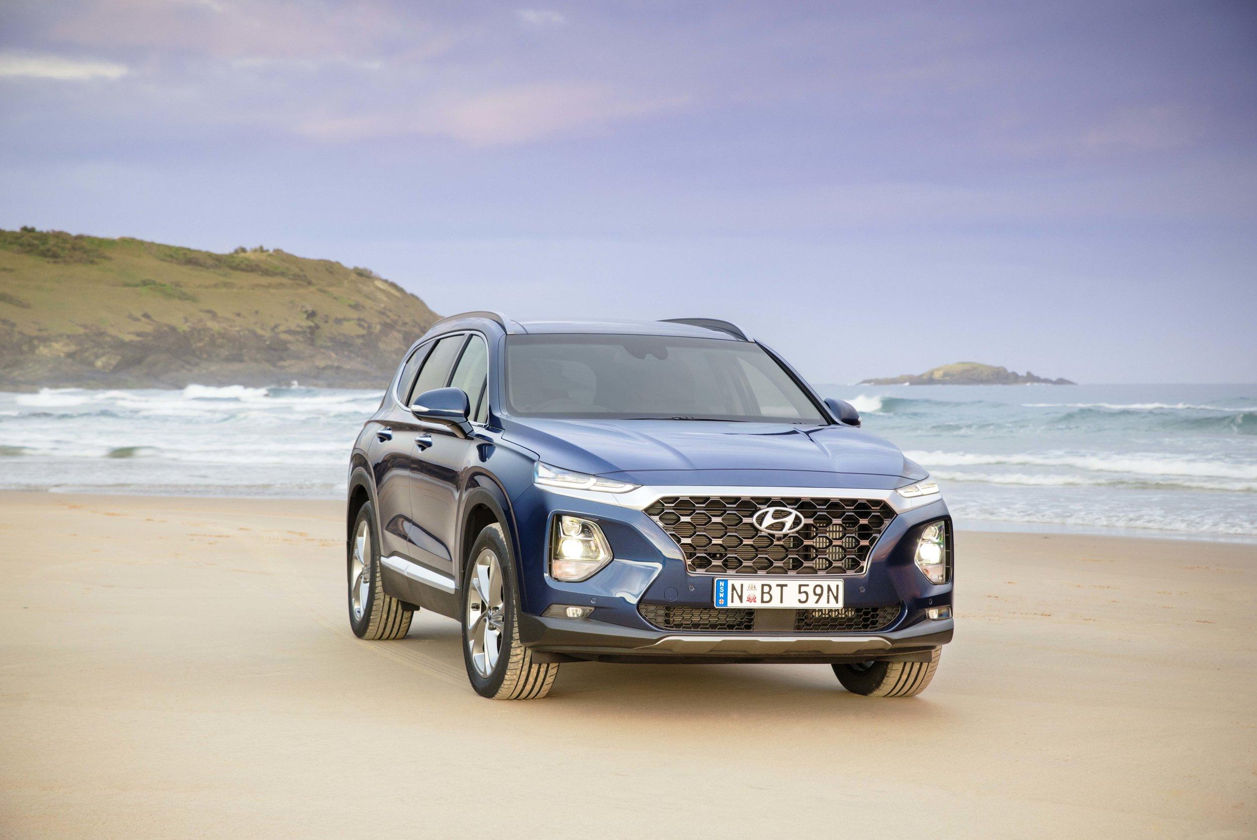 Full review of the 2019 Hyundai Santa Fe:   Click here >>