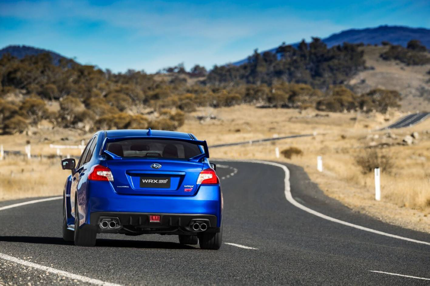 You really do have to be ever-watchful of your licence in an STI, on a road like this