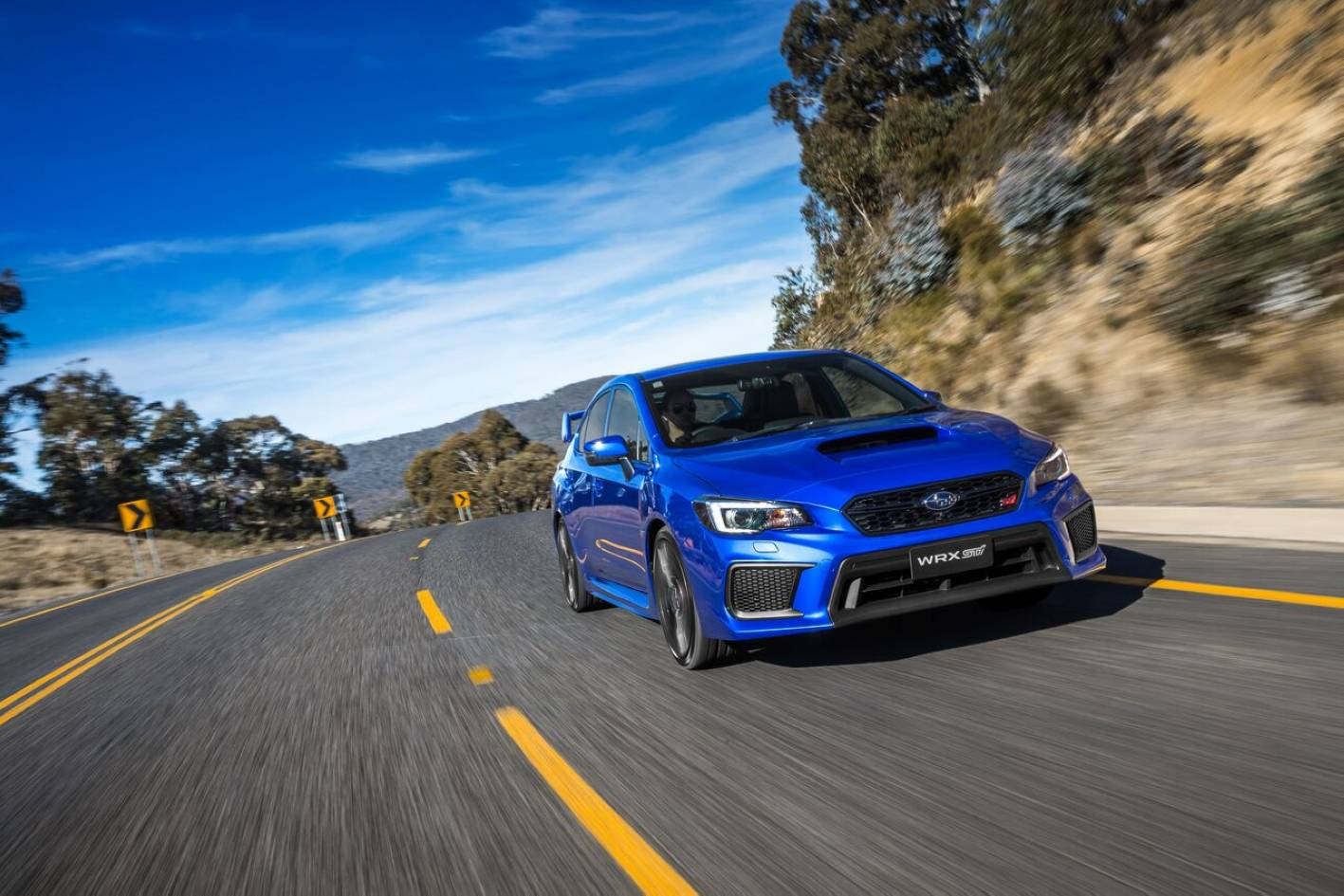 Most STI owners will never come within a bull's roar of an STI's limits - which is partly good, because loss of control in an STI is going to be insanely fast...