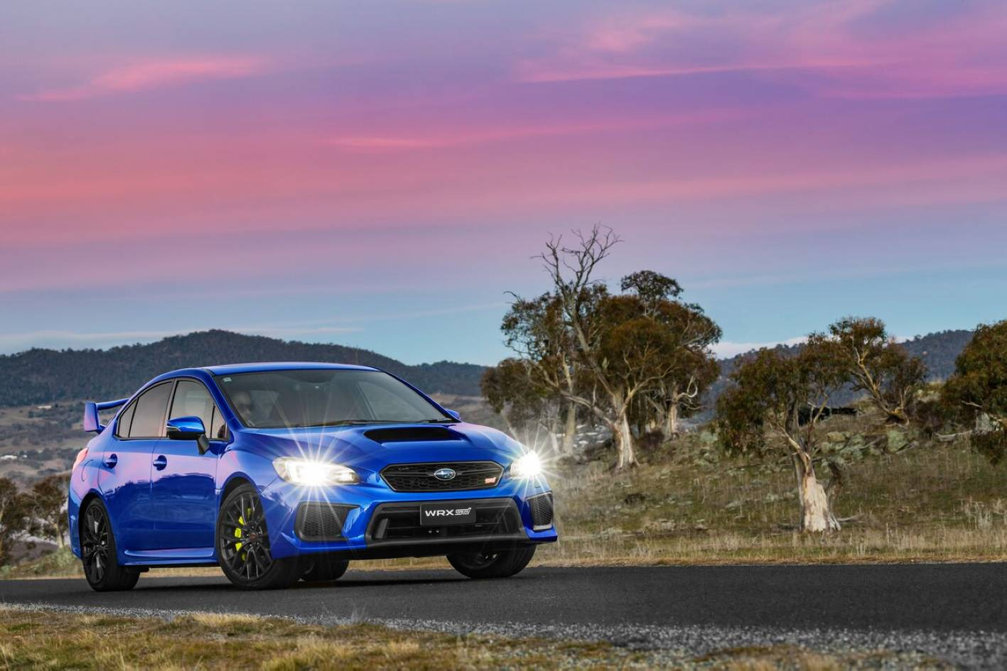 WRX STI value proposition gets better and better over time - this is a lot of performance for $55k