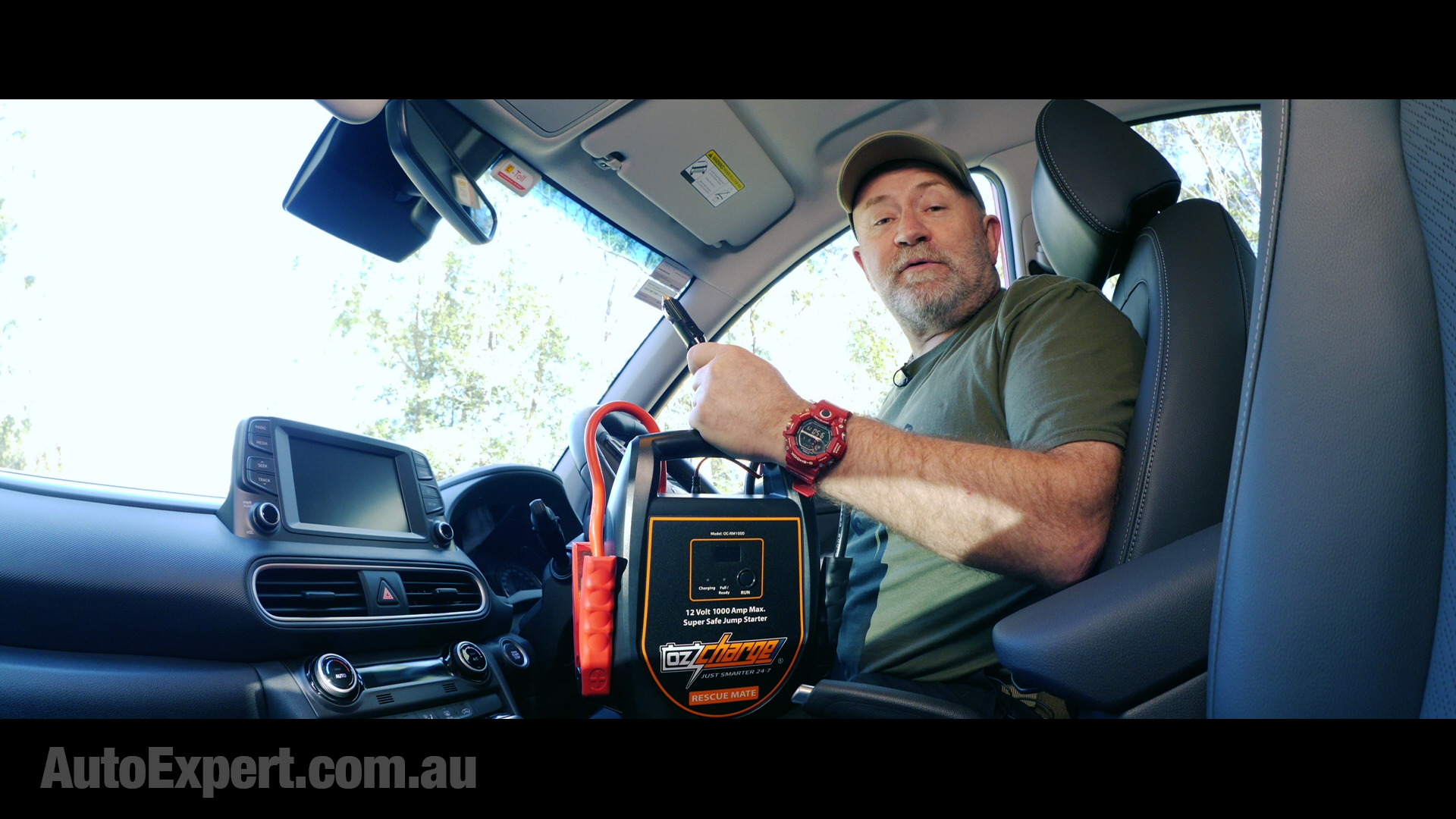 Rescue Mate comes with 12-volt cigarette and USB power inputs - both cables are included