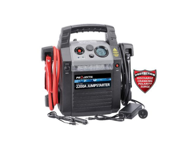 Projecta 2200-amp 12/24-volt jump start pack