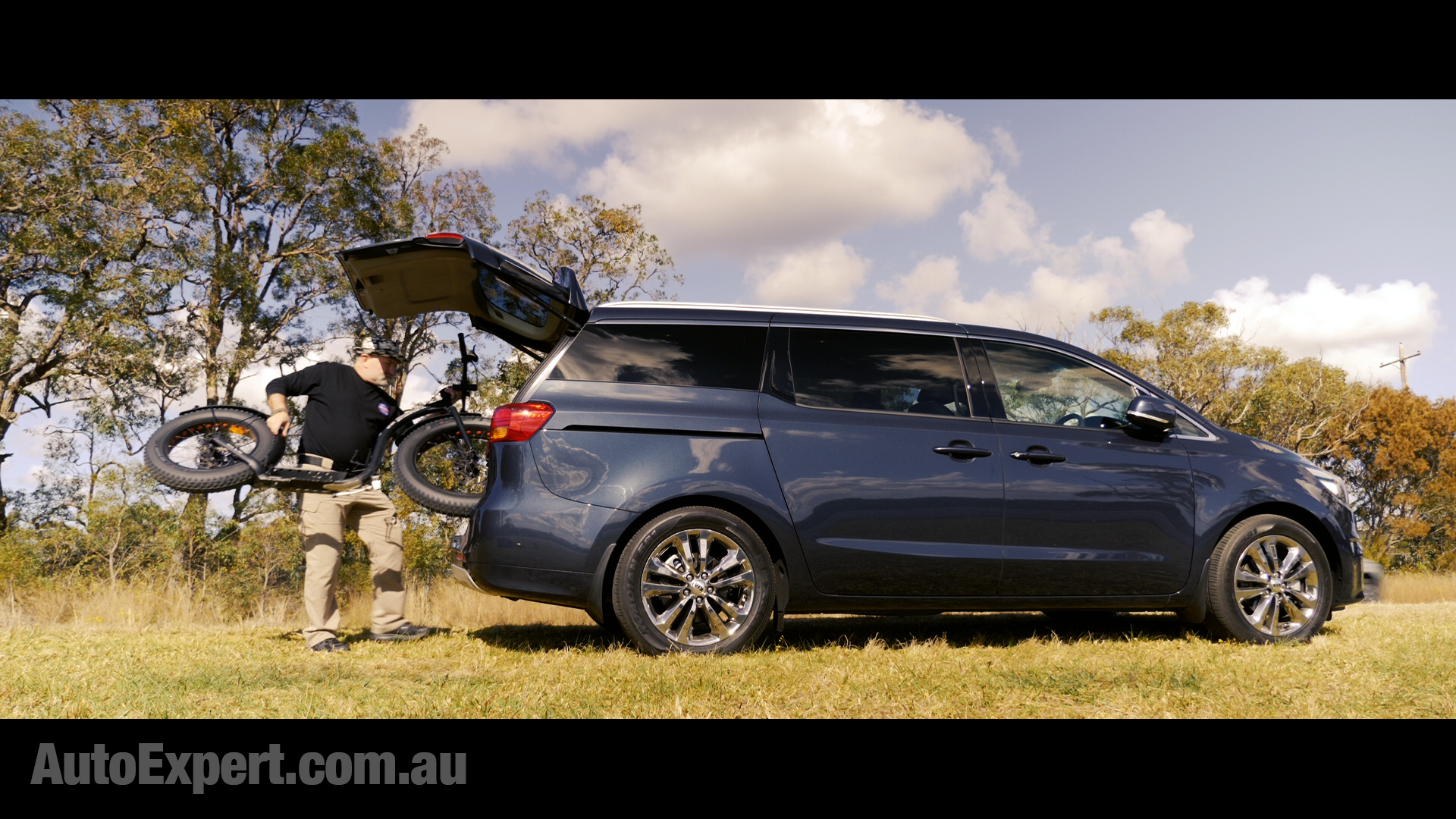 Kia Carnival - people movers are not as sexy as SUVs, but they would often be w-a-y more practical and versatile