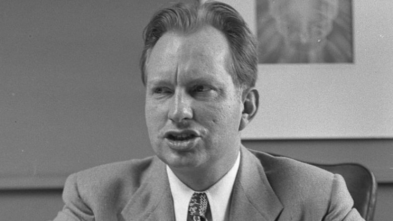 Scientology founder L Ron Hubbard