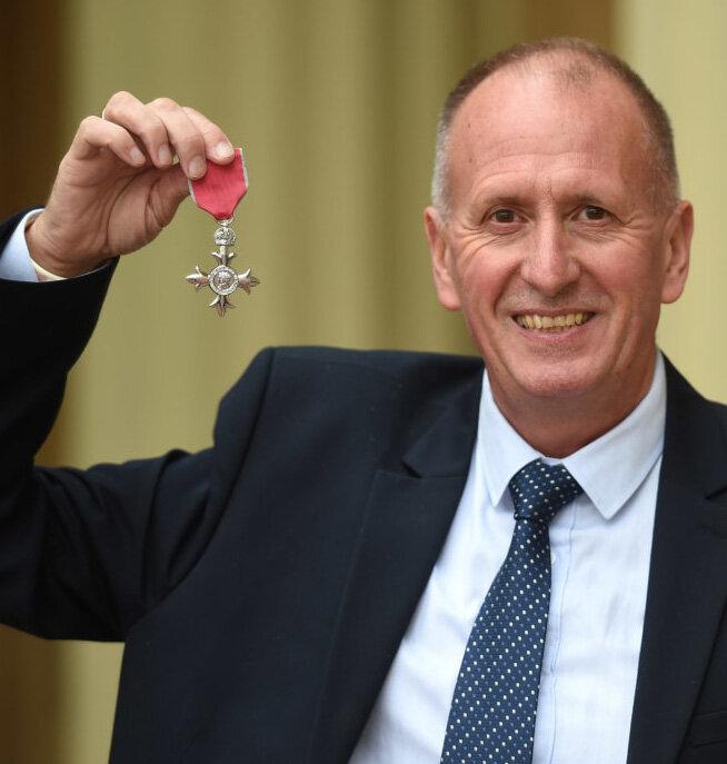 Thai cave rescue hero Vernon Unsworth, MBE