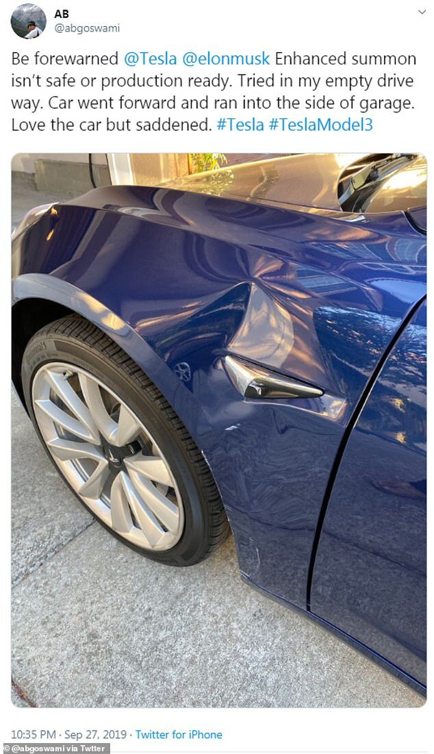 The list of Tesla 'Smart Summon' fails is growing longer by the minute