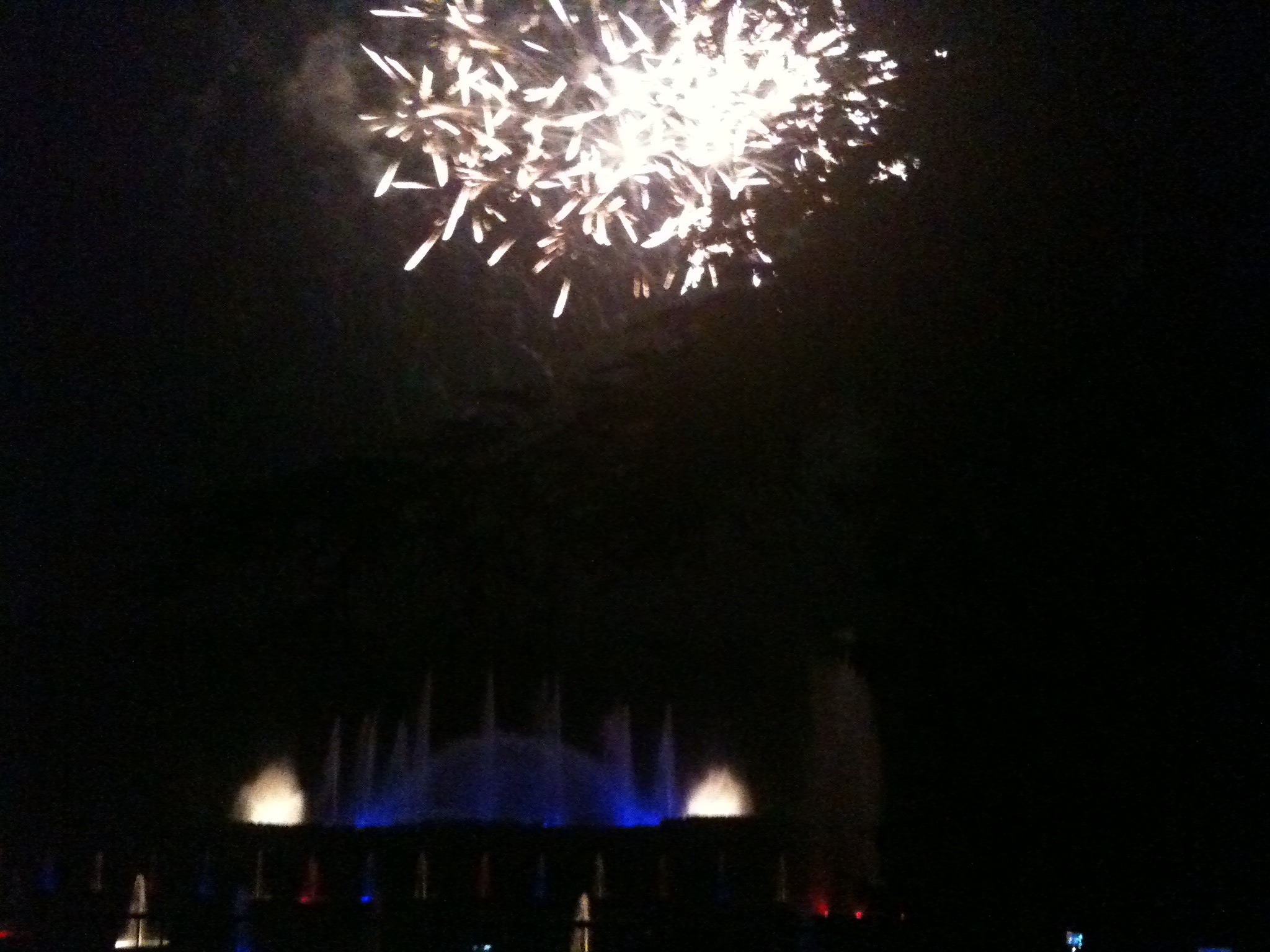Longwood Gardens - Fountains & Fireworks - Mobile Photos