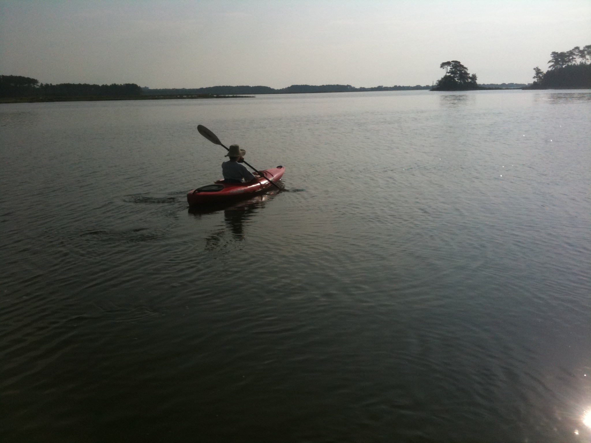 Along the Water Trail - Morning Paddle in Assawoman Refuge