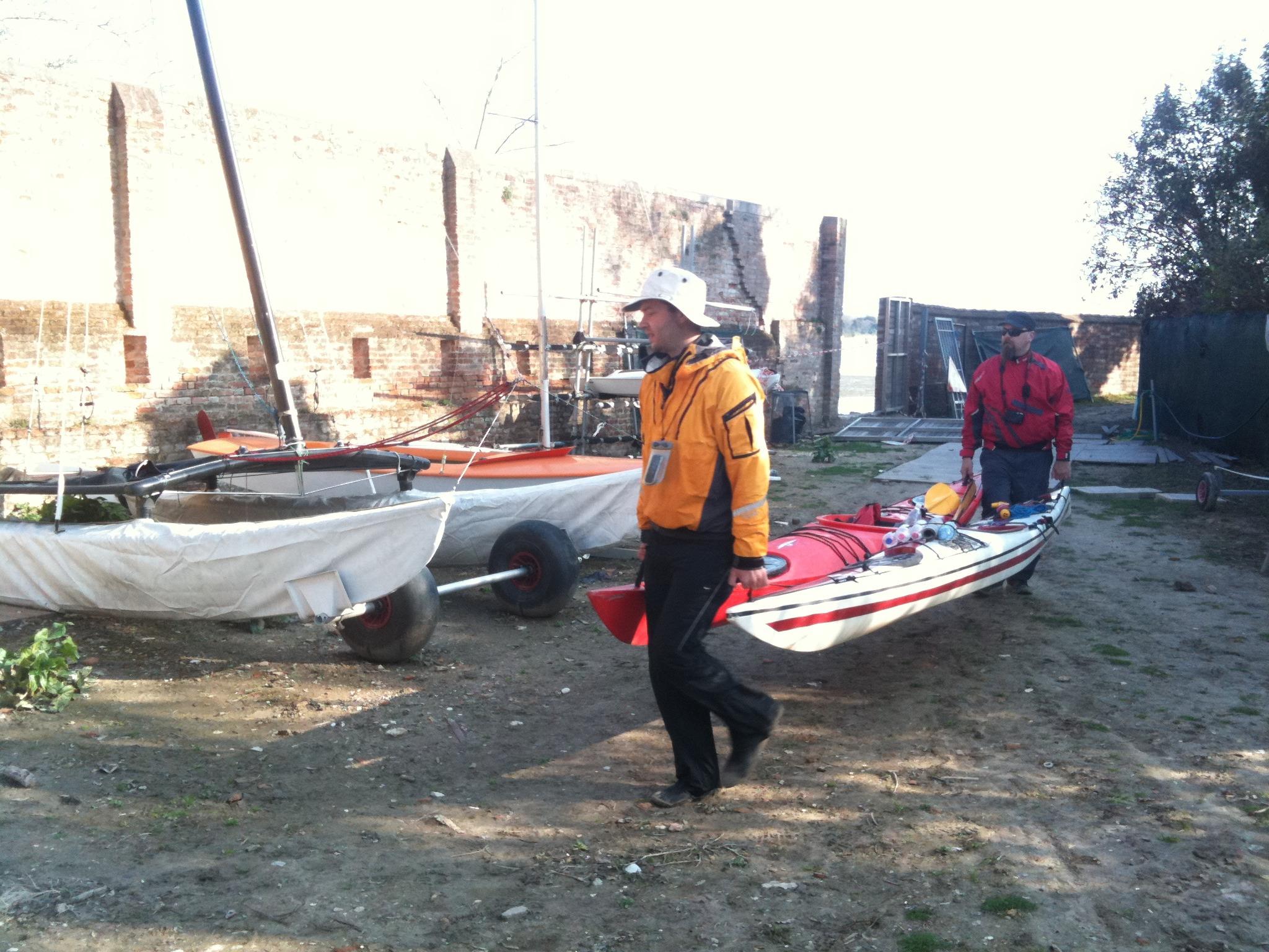 Kayaking Venice - Mobile Photos - Day 4