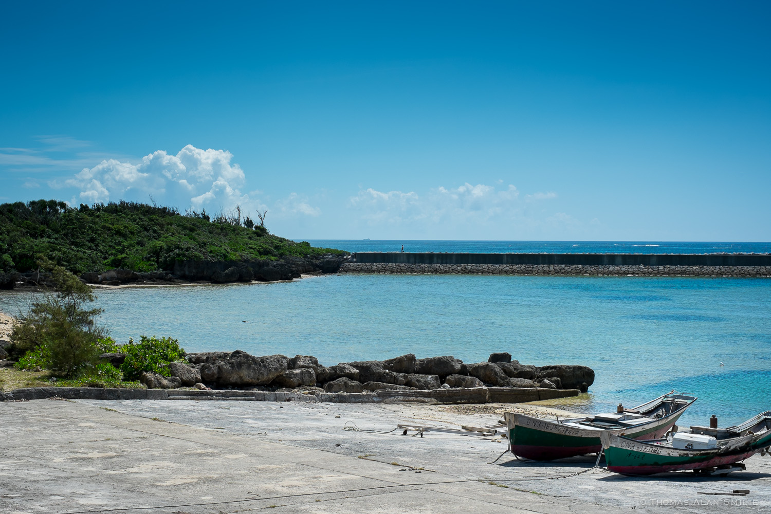 Small fishing port on the east side of the island. Fuji X-Pro1, 35mm f1.4.