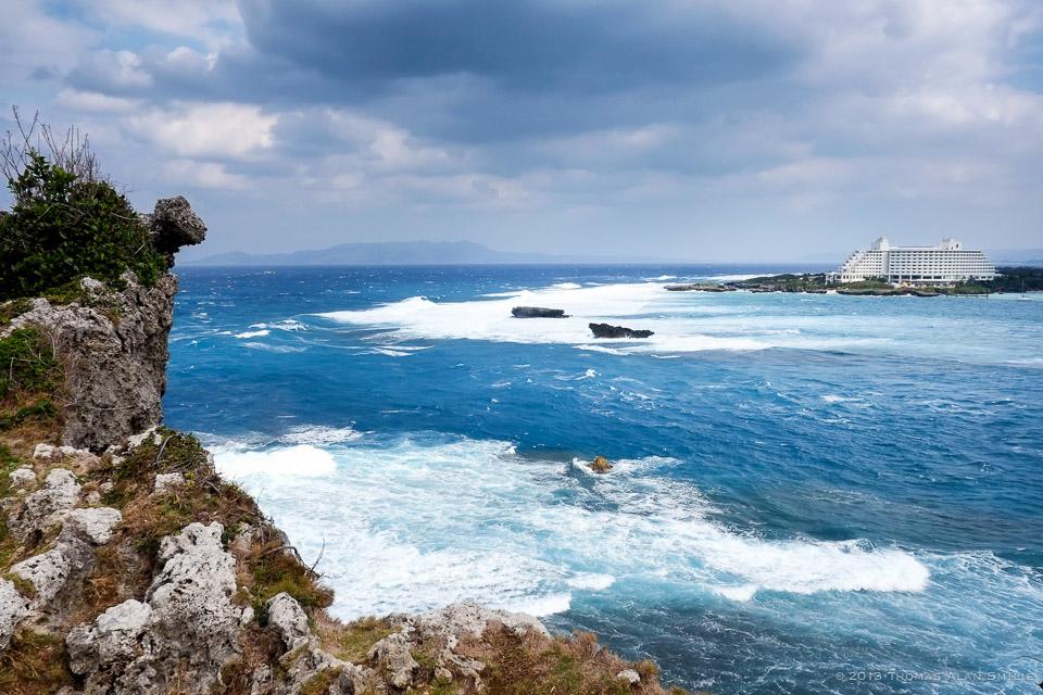 Manza Point - Okinawa, Japan. Fuji X-Pro1, 18mm f2.0.