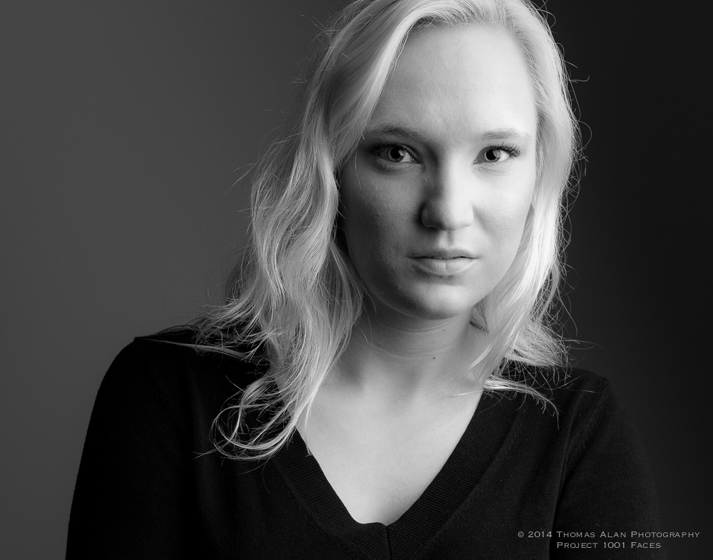 Sarah - Project 1001 Faces. Fuji x100s with the TCL-X100 Teleconverter Lens.