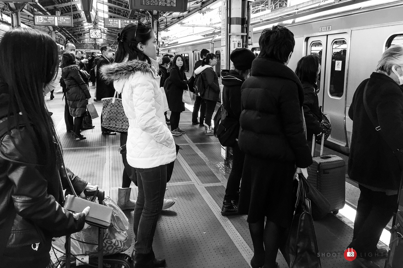 Shinjuku, Tokyo - iPhone 6 Plus, ISO 50, f/2.2, 1/120 sec. Edited in Lightroom Mobile.