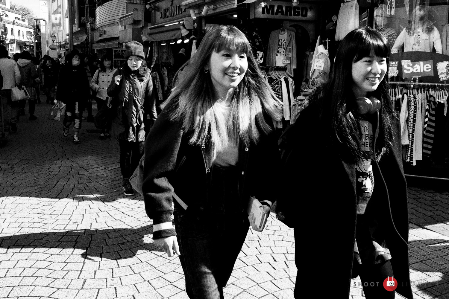 Harajuku, Tokyo - iPhone 6 Plus. Edited in Lightroom and Silver Efex Pro 2.