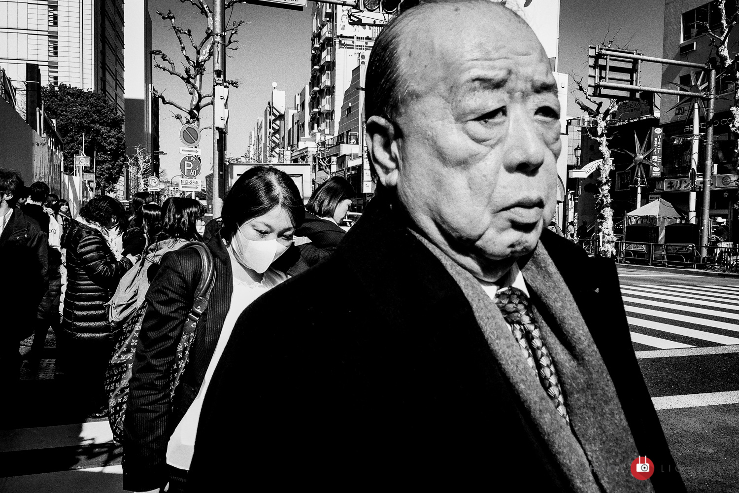 Shinjuku, Tokyo - iPhone 6 Plus, ISO 32, f/2.2, 1/2000 sec. Edited in Lightroom and Silver Efex Pro 2.