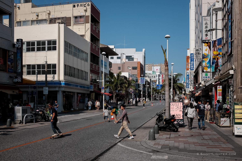 Naha, Okinawa Japan - Fuji x100T, ISO 200, f/5.6, 1/800 sec. Edited in Lightroom 6.
